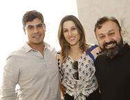 Rodrigo Menezes, Brenda Rolim e Eduardo Fontelles