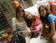 Sabrina Costa, Sofia e Letícia Batista