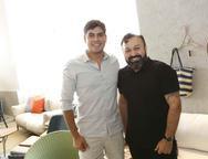 Rodrigo Menezes e Eduardo Fontelles