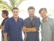 Valderzei Wanderley, Paulo Alves e Marcelo Yamashita