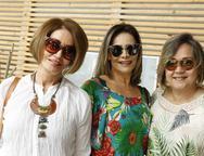 Tereza, Gina Paiva e Cecilia Nobrega