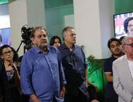 Paulo Linhares Wolney e Henry Campos