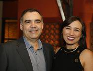 Amilton Nogueira e Rafaela Nere