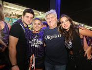 Omar, Patricia e Amarilio  Macedo e Fernanda Lecy
