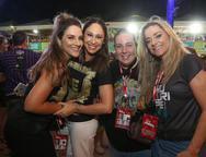 Nathalia Marques, Larissa Coelho, Clara Franck e Celia Magalhães
