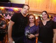 Thiago Holanda, Lisieux Brasileiro e Ana Claudia Holanda
