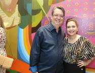 S�rgio Fernando e Evelucia Melo
