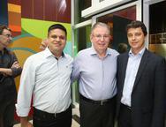 Angelo Nunes, Ricardo Cavalcante e Andr� Siqueira