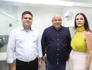 Angelo Nunes, Pedro Alfredo e Mirian Pereira
