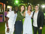 Jonathan Azevedo, Grazi Costa, Laura Ramos e Fábio Porchat