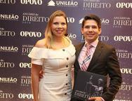Jourdana e Franco Almada