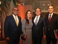 Marcelo Mora, Manoela e Ricardo Bacelar e Erinaldo Dantas