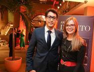 Thiago Photela e Brenda Gomes
