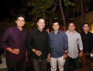 Alexandre Saboia, Ricardo Sena, Marco Aurélio Costa, Roney Meireles e Carlos Gomes