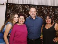 Amanda Alencar Araripe, Leoni Alencar Araripe, André Alencar Araripe e Maria Helena Alencar Araripe