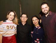 Barbara Lima, Carolos Gomes, Angélica Modesto e Kayo Modesto