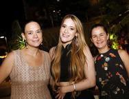 Andreia Campos, Vitória Arrais e Leia Campos