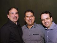 Breno Melo, João Jorge Cavalcante e Marcos Filgueiras Neto