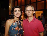 Angela Holanda e Marcos Rabelo