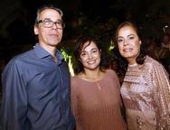 Eduardo Arrais, Poliana Novais e Ana Rosa