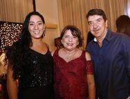 Carolina Alencar, Fátima Araripe e Zito Aguiar