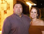 Fábio Rocha e Juliana Araripe