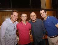 Marcos Rabelo, Francisco Assis, Bretis Silva e Rodolfo Borsaro