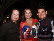Lisandro Fujita, Fátima e Fernando Santana