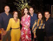 João Cateb,  Ana Paula Daud, Sarah Nunes, André Alencar, Michelline e Germano Albuquerque