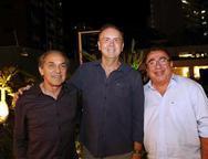 Wilson Meirelles, João Cateb e Crisanto Gomes