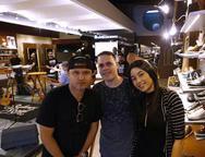 Lucas Freitas, Regina Silva e Jonathan Rego