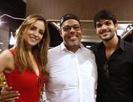 Andr� Siriato, Lucas Fernandes e Ana Lucia Vilela