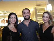 Luiza Alves,  Ramon e e Lida Costa