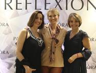 Michele Nassi, Laura Wie e Ana Maria Mello