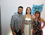 Armando Araujo, Roberta Fontelles Philomeno e Adelia Albuquerque