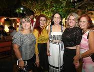 Camila Duarte, Patricia, Roberta Fontelle Philomeno, Valeska Rolim e Fatima Duarte