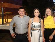 Ladslau Nogueira, Roberta Fontelles Philomeno e Ana Lucia Nogueira
