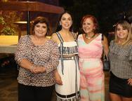 Socorro Trindade, Roberta Fontelles Philomeno, Fatima e Camila Duarte