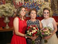 Ariane Firmeza, Arizinha Mota e Monique Alencar