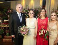 Eptacio Nascimento, Monique Alencar, Ariane Firmesa e Monica Alencar