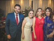 Clovis Holanda, Monique Alencar, Ariane Firmesa e Anelise Holanda