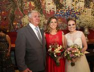 Francisco Mota, Ariane Firmesa e Monique Alencar