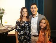 Luana Alencar, Daniel Sampaio e Julia Marinho