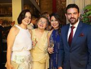 Lara Mota, Diana Pessoa, Anelise e Clovis Holanda
