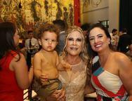 Pedro Lima, Monica e Veronica Alencar