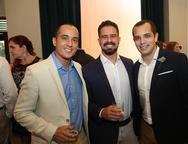 Afonso Fernandes, Braulio Pacheco e Pedro Lima