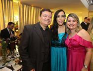Savio Braga, Cintia Sousa e Pauliana Ximenes