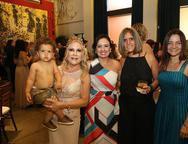 Pedro Lima, Monica e Veronica Alencar, Adriana Salgado e Ilda Rodrigues