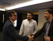 Eduardo Furlani, Eduardo Oliveira e Raffael Barroso