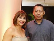 Cristina Ayres e Paulo Sérgio